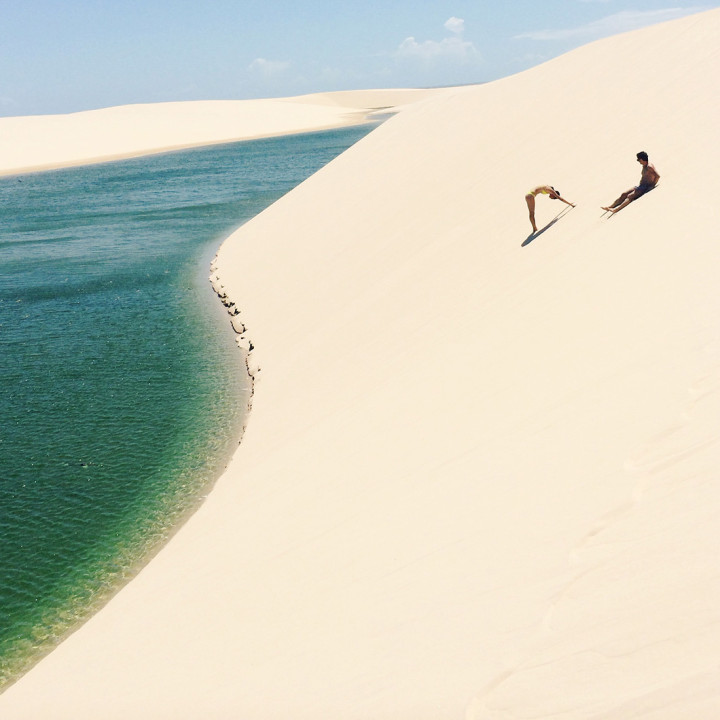 100 GRAMS OF SUN | LENÇOIS MARANHENSES